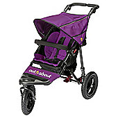 Out n About Nipper Single Pushchair V4, Purple Punch