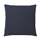 Bahne Navy Blue Square Cushion 45 x 45 cm