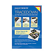 Tracedown Assorted A4 - 5 Pk