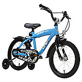 Terrain Rider 16 inch Wheel Blue Kids Bike