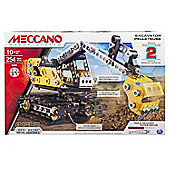Meccano Excavator Pelleteuse Construction Digger