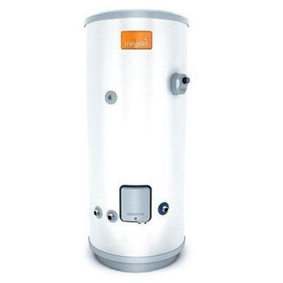 Heatrae Sadia Megaflo Eco 70D Unvented Direct Stainless Steel Hot Water Cylinder 70 Litres