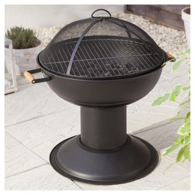 Tesco Charcoal Firepit Barbecue