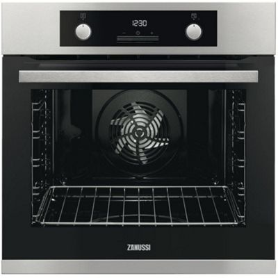 Zanussi ZOP37982XC Built-in Electric Single Oven, Stainless Steel