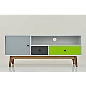 Ilva Range - TV Cabinet Sideboad - Coloured Drawers