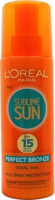 L'Oreal Sublime Sun Perfect Bronze SPF15 200ml Spray