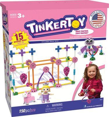 K'nex Tinkertoy Transit Building Set Pink - 56541