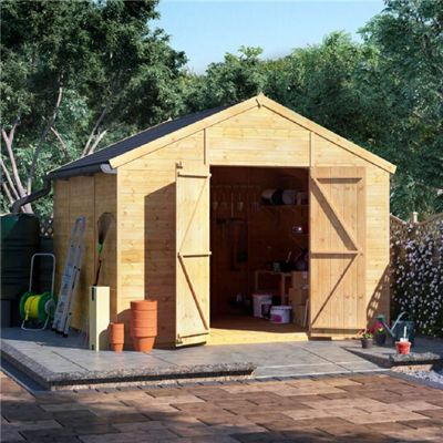 BillyOh Expert Tongue and Groove Apex Workshop - 10x10 Windowless