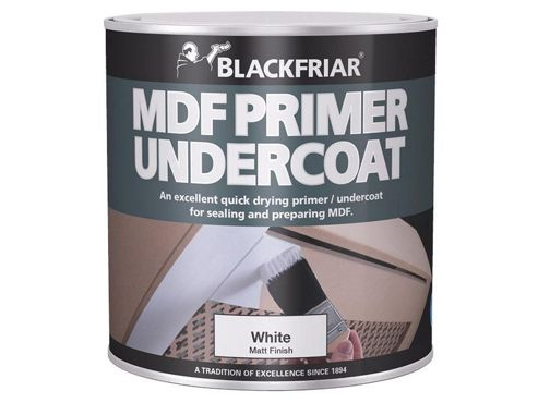 Blackfriar BKFMDFP500 500 ml Quick Drying MDF Acrylic Primer Undercoat