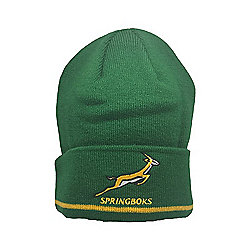 BrandCo Springboks South Africa Rugby Beanie Size - F S Catalogue Number   577-0305 639ca871eb1