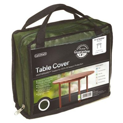 Gardman 4-6 Seater Round table Cover- Green