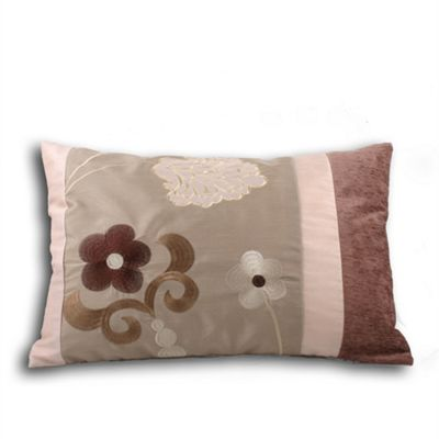 Riva Home Bloomsbury Mocha Cushion Cover - 35x50cm