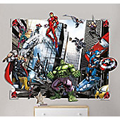 Marvel Avengers 3D Wall Decoration Mural