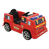 Fireman Sam 6V Battery Operated Jupiter Fire Engine