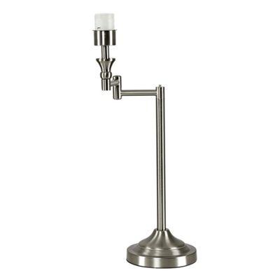 Sinatra Swing Arm Table Lamp Base - Brushed Chrome