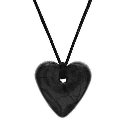 Gumigem Traditional Heart Necklace Midnight Shimmer