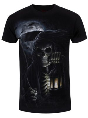 Spiral From The Grave Men's T-shirt, Black.