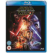 Star Wars The Force Awakens Blu-ray with Light Side Limited Edition Sleeve + Bonus Disc
