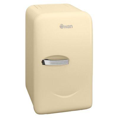 Swan Retro Mini fridge - SRE10010CN - Cream