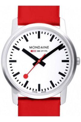 Mondaine Ladies Simply Elegant Strap Watch A672.30351.11SBC