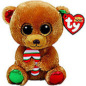 TY Beanie Boo Bella the Chistmas Bear - 15cm