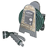 Tesco 10m Micro Reel Garden Hose with Spray Gun