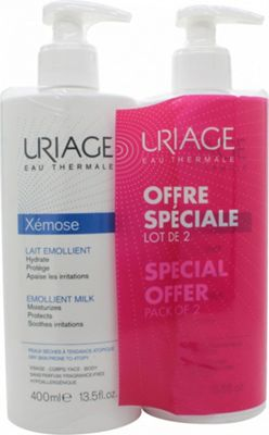 Uriage Eau Thermale Xemose Emollient Milk 2 x 400ml