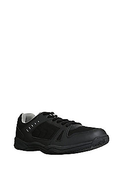 F&F Mesh Panel Trainers - Black