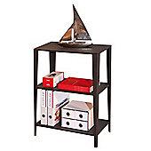 Chelsea- Two Shelf Storage Unit - Black