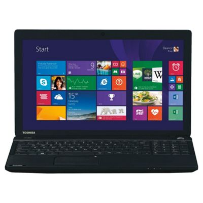 Toshiba Satellite C50D, 15.6'' Laptop, AMD A4, 8GB RAM, 1TB - Black