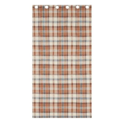 Catherine Lansfield Heritage Kelso Spice Check Curtains - 66x72 Inches (168x183cm)