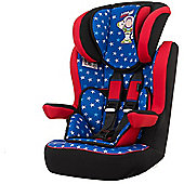 OBaby Disney Group 1-2-3 High Back Booster Car Seat (Buzz Lightyear)