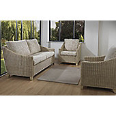 Desser Dijon 3 Seater Sofa and 2 Chairs Conservatory Furniture Set