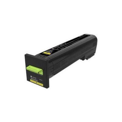 Lexmark 72K20YE Laser cartridge Yellow toner &