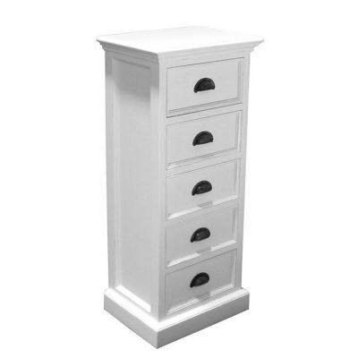 Whitehaven Painted 5 Drawer Chest Of Drawers