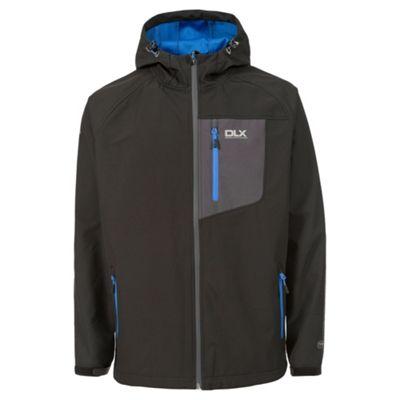 Trespass Mens Wallis Softshell Jacket Black XL