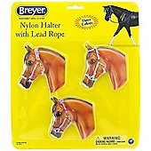 Breyer Nylon Halters & Lead Ropes 3 Pack