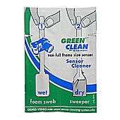Green Clean Non-Full Size Sensor Wet and Dry Swab (Pack of 25)