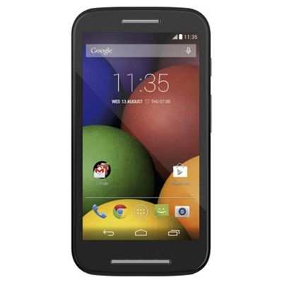 Tesco Mobile Motorola Moto E™ Black