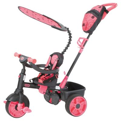 Little Tikes 4-in-1 Trike Neon Pink
