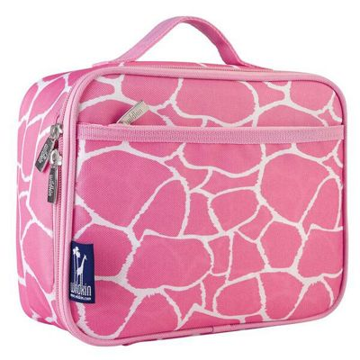 Kids' Lunch Bag - Pink Giraffe