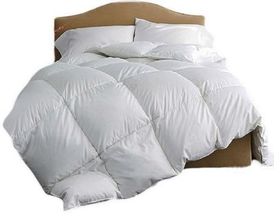 Single 10.5 Tog Luxury Goose Feather And Down Duvet 100% Cotton Cover