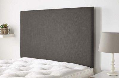 Aspire Furniture Derwent Headboard in Malham Weave Fabric - Slate - Single 3ft