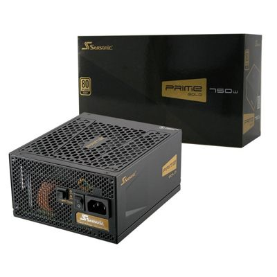 Seasonic 750 Watt Prime Fully Modular 80+ Gold PSU
