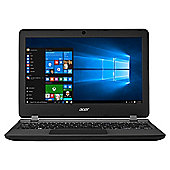 "Acer Aspire ES11 ES1-132 11"" Intel Celeron 4GB RAM 32GB Storage Laptop with Office 365 and 1TB OneDrive Cloud Storage - Black"
