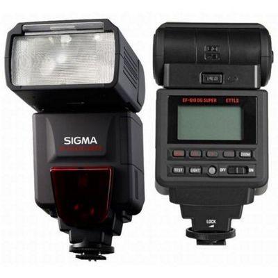 Sigma EF-610 DG Super Slave flash Black for Nikon