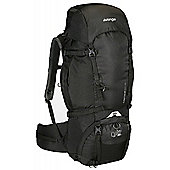 Vango - Contour 60+10 Trekking Walking and Hiking Rucksack Shadow Black