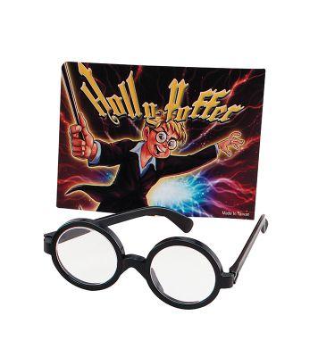 Bristol Novelty - Round Wizard Boy Glasses
