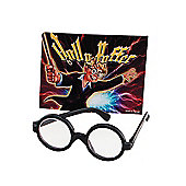 Bristol Novelty - Round Wizard Boy Glasses