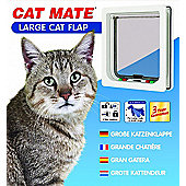 Cat Mate Large Cat Flap White 221W